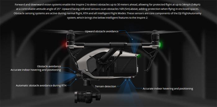 DJI Inspire 2 profesisonal aerial film machine 06