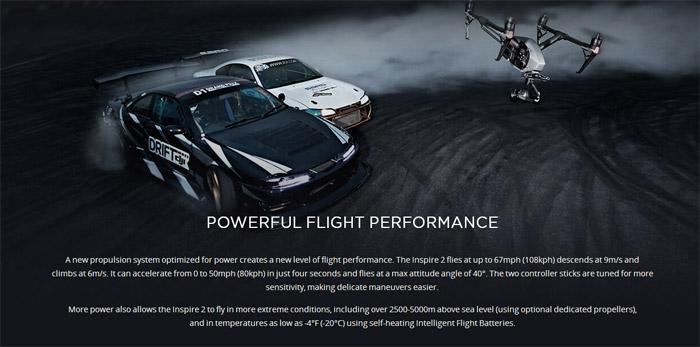 DJI Inspire 2 professional aerial film machine 12