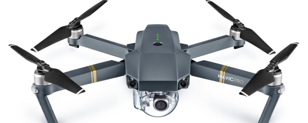 Dji Mavic Pro drone pieghevole sensori