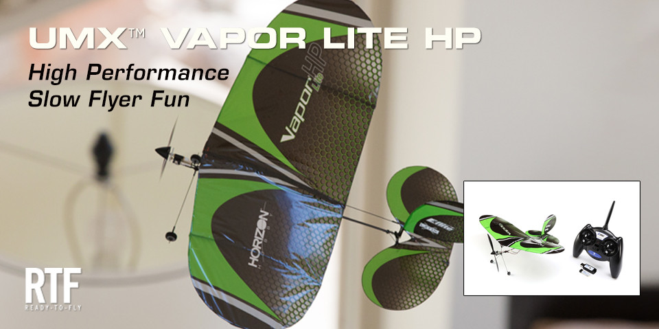 E-flite UMX Vapor Lite HP RTF 01