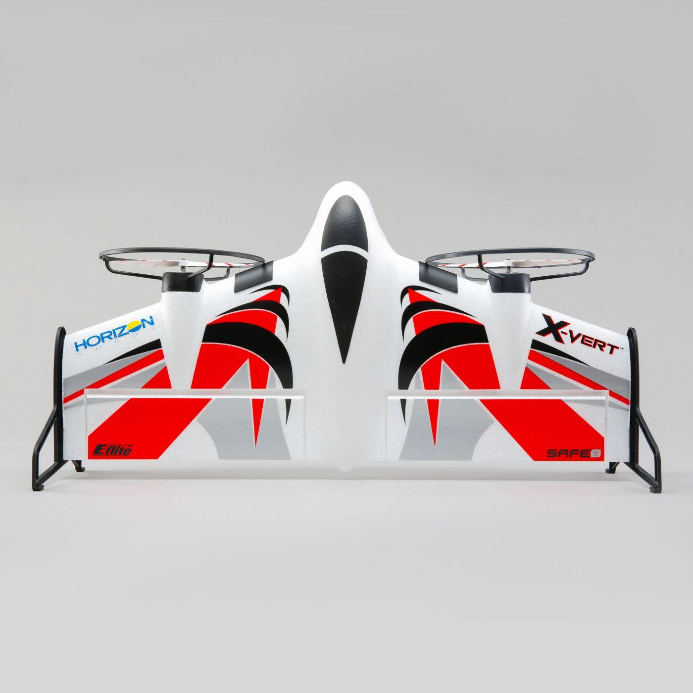 E flite X-Vert VTOL AS3X SAFE BNF 04