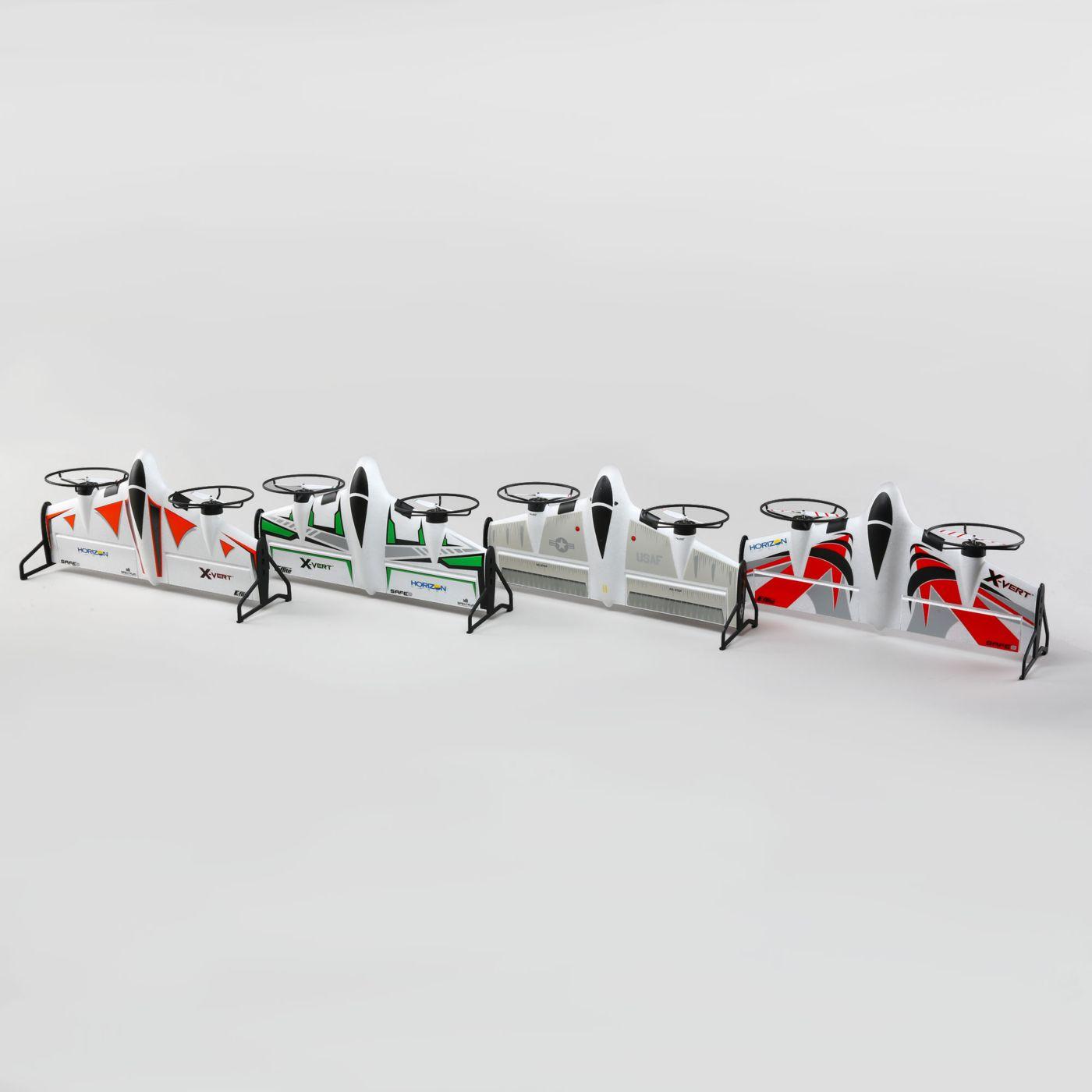 E flite X-Vert VTOL AS3X SAFE BNF 06