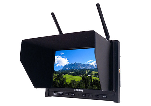 """FPV Monitor 7"""" HD Lilliput IPS"""