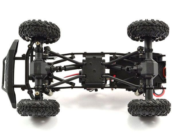 FTX Outback Mini 1/24 4x4 rtr luci led 02