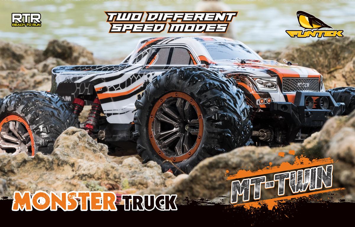 Funtek MT Twin Monster Truck 1/10 rc rtr 00