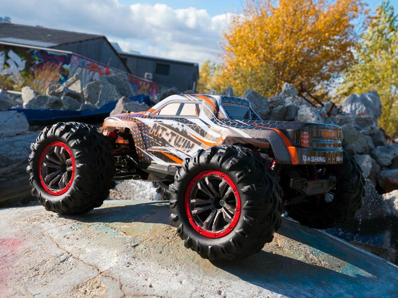 Funtek MT Twin Monster Truck 1/10 rc rtr 07