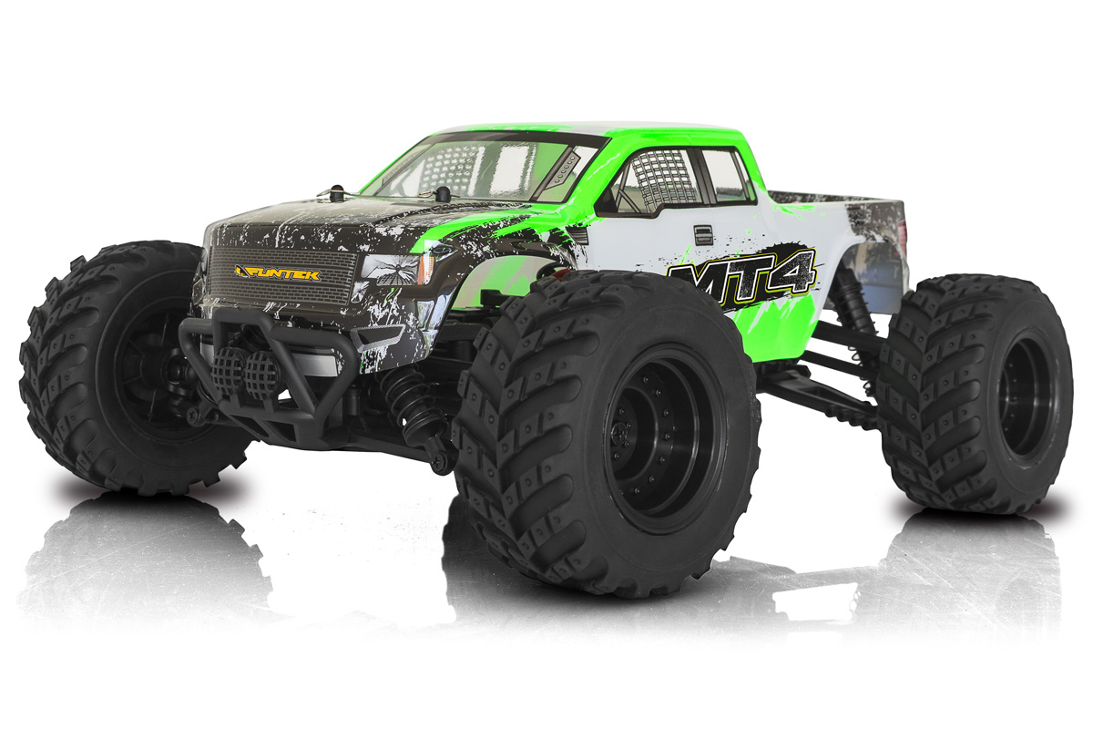 Funtek MT4 Monster Truck 1/10 rc rtr 01