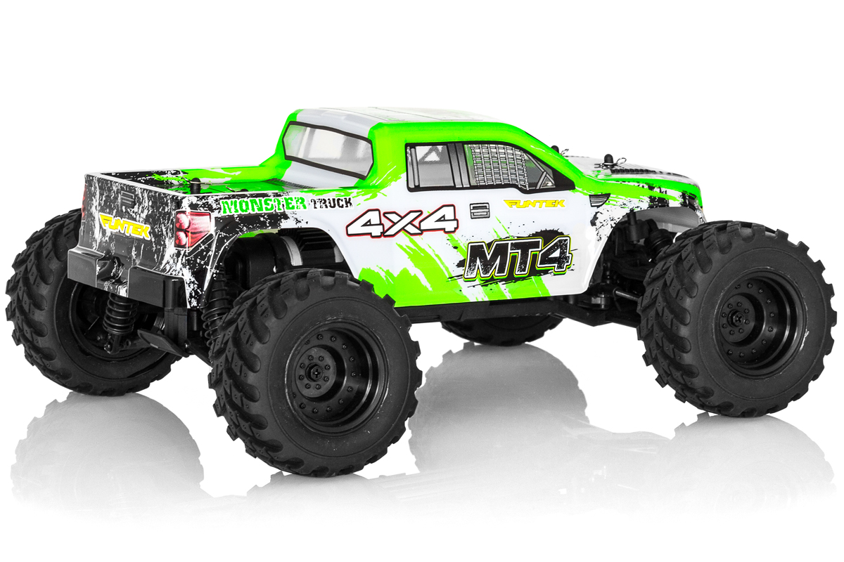 Funtek MT4 Monster Truck 1/10 rc rtr 02