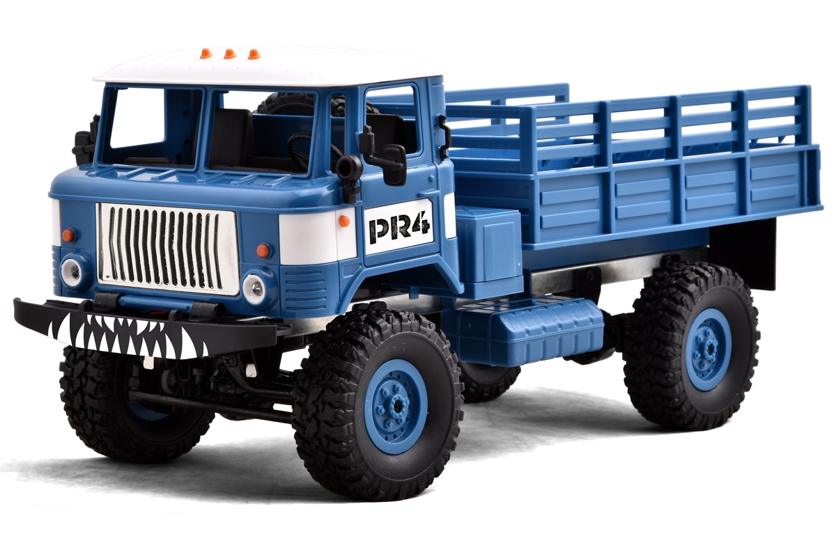 Funtek PR4 4WD Military Truck brown 1/16 rc rtr 01