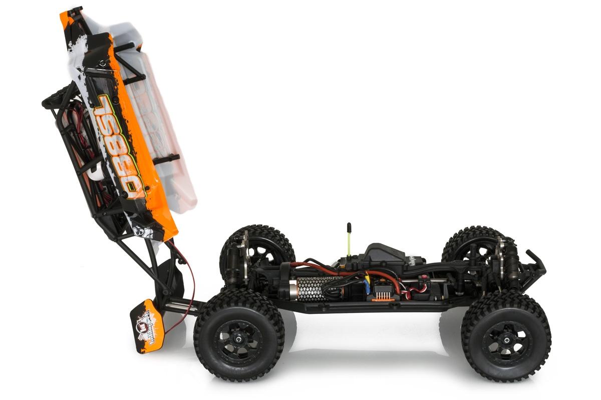 Hobbytech DB8 Sl rock buggy 1/8 rtr 02a