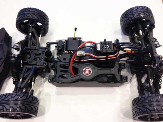 Hobbytech - Epx2 GT brushless 1:8 chassis