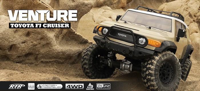 Hpi Venture Sandstorm Toyota FJ Cruiser 4wd 1