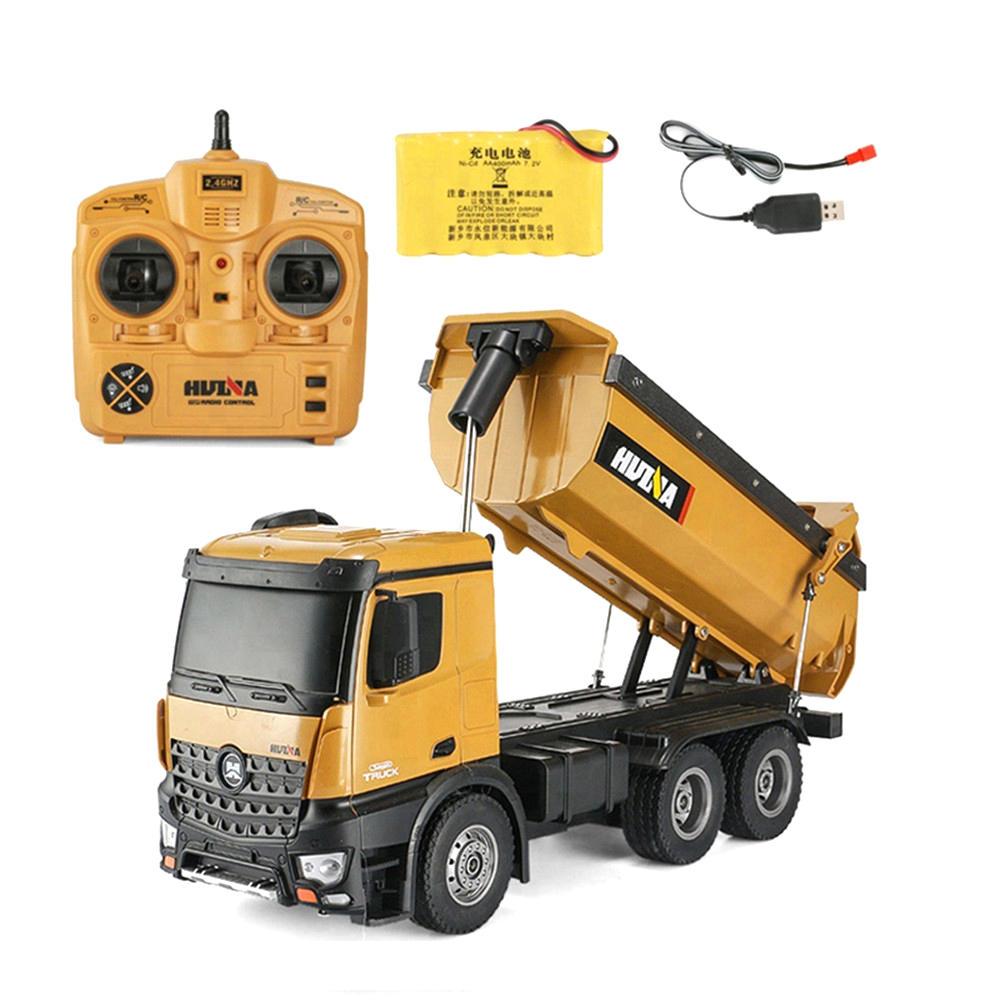 Huina Camion da Cava rc Dump Truck RTR 01m