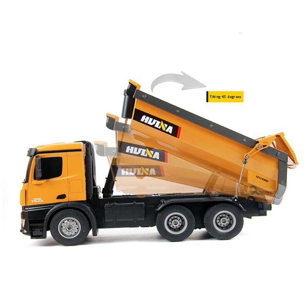 Huina Camion da Cava rc Dump Truck RTR 02m
