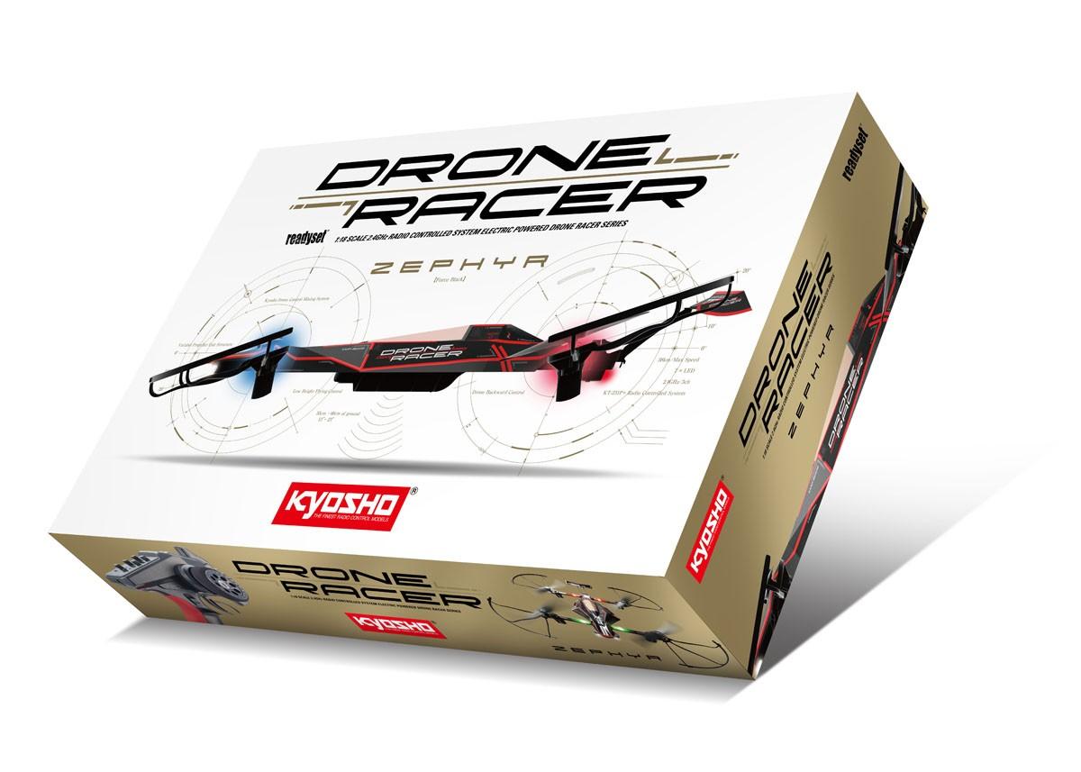 Kyosho drone racer zephyr force black 11