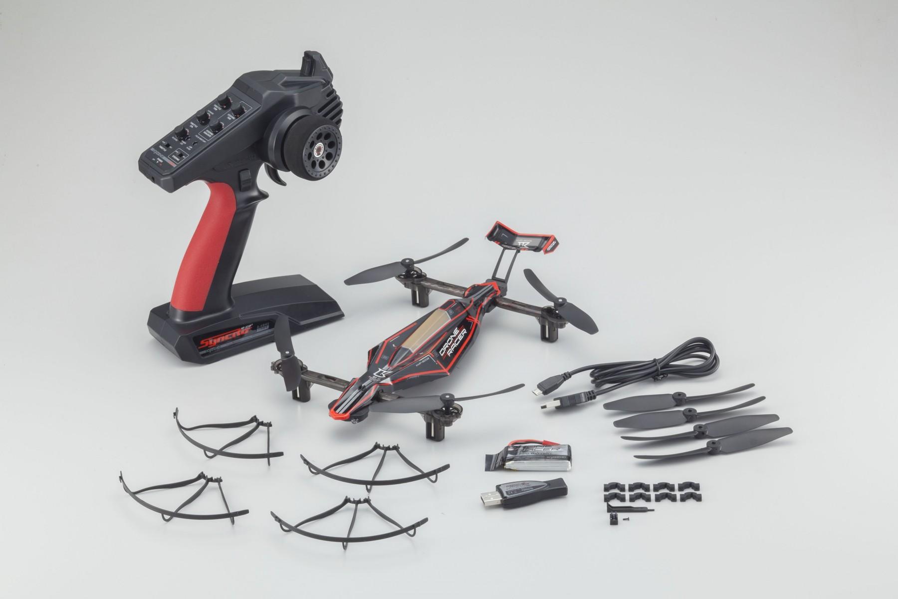 Kyosho drone racer zephyr force black 04
