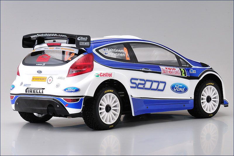 Kyosho Ford Fiesta S2000 DRX VE rtr back