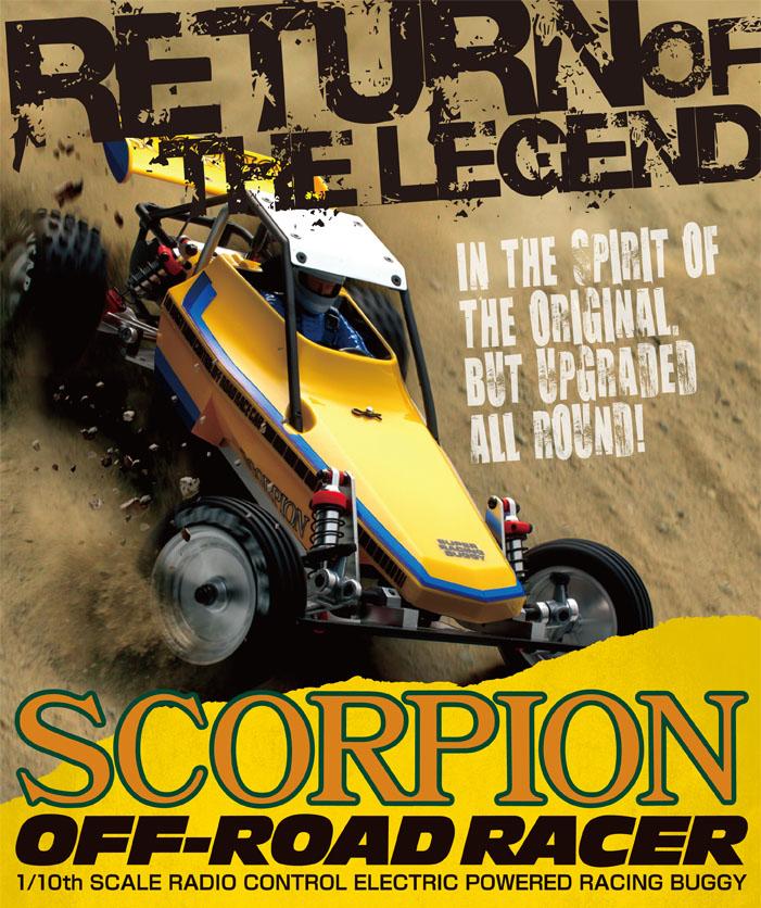 Kyosho Buggy Scorpion Legendary Series 2WD 1