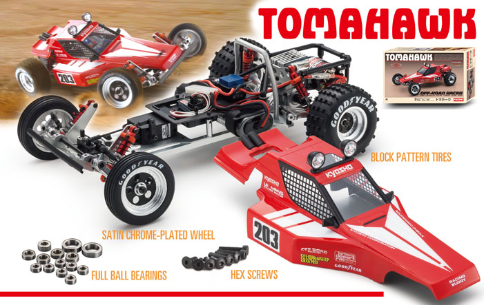 Kyosho Kit Buggy 1 10 Tomahawk Legendary Series 2wd 30615