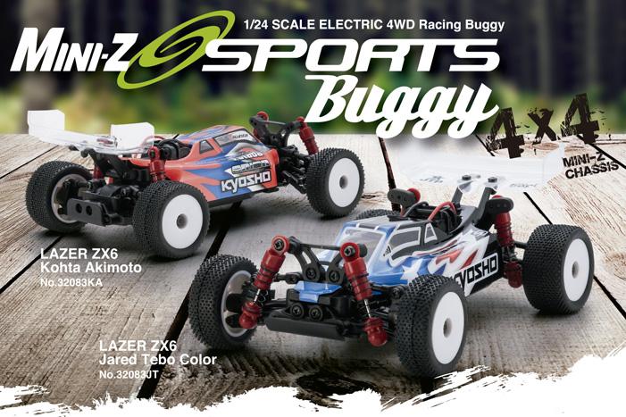Kyosho Mini-z Buggy Sports Lazer zx6 1
