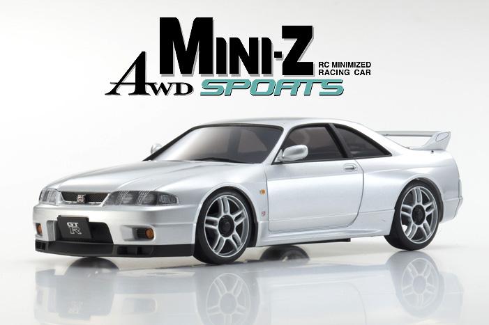 Kyosho Mini-z Awd Nissan  Skyline GT-R 01