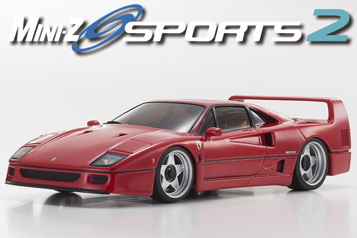 Kyosho Mini-z Sports 2 ferrari F40 01