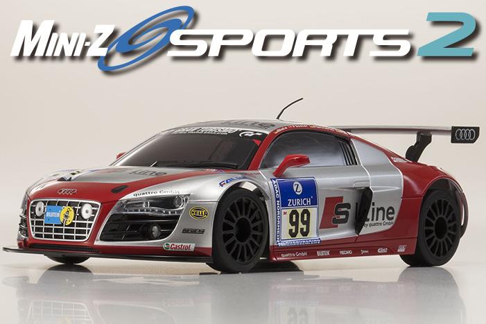 Kyosho Mini-Z Sports MR-03S Audi R8 LMS NBR1