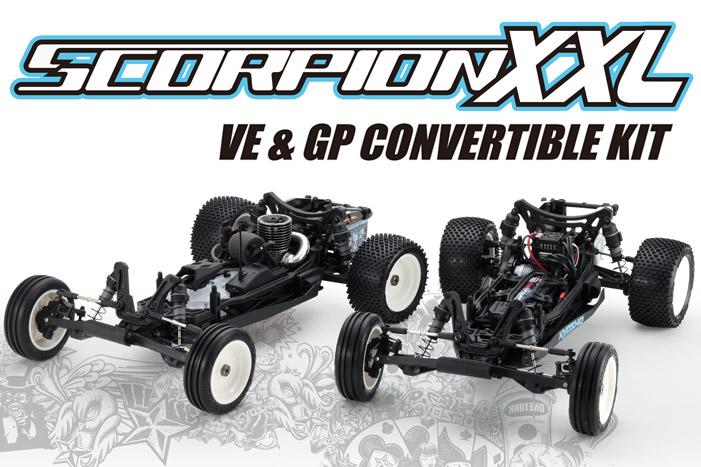 Kyosho Scorpion XXl VE GP Kit 1