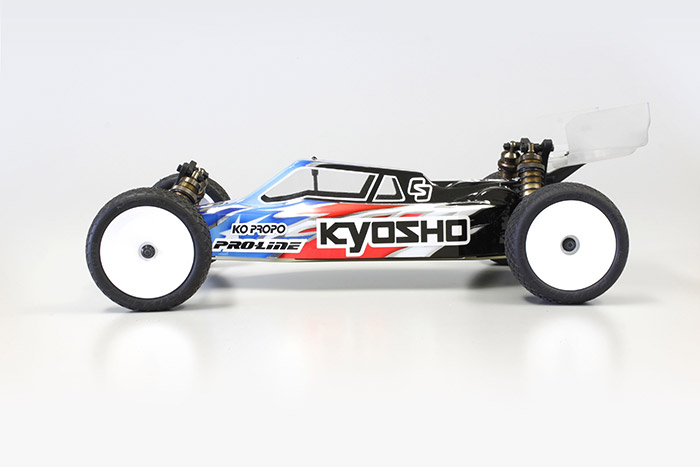 Kyosho Ultima RB6.6 Rc Buggy Kit 1/10 foto 05