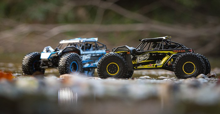 Losi Rock Rey Buggy Rock Racer brushless avc rtr 2