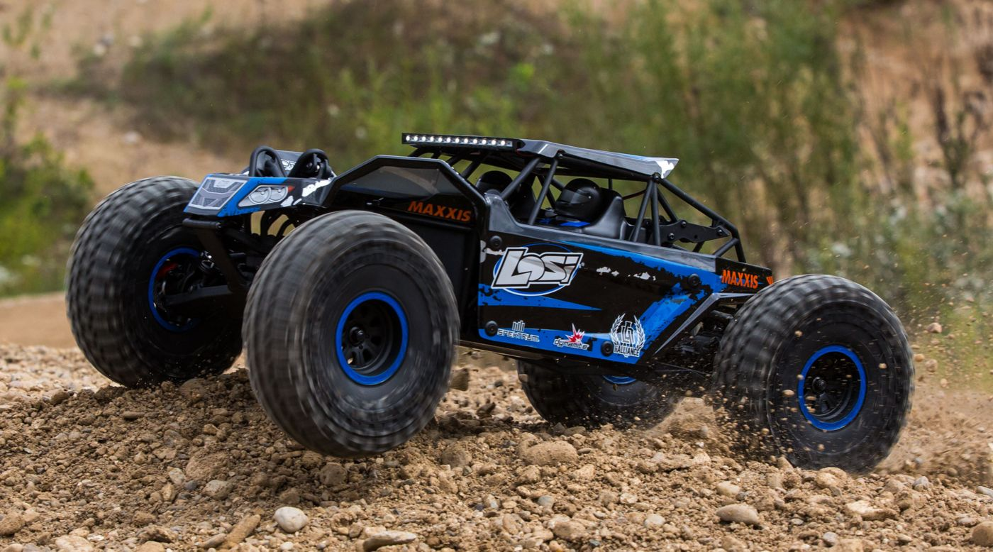 Losi Rock Rey 1 10 Scale Rock Racer R C Brushless Avc