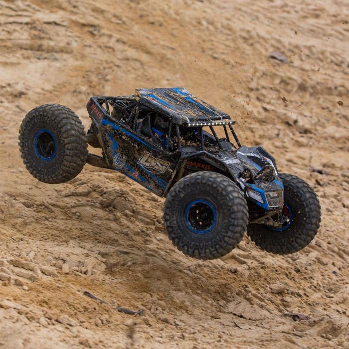 Losi Rock Rey Buggy Rock Racer brushless avc rtr 7