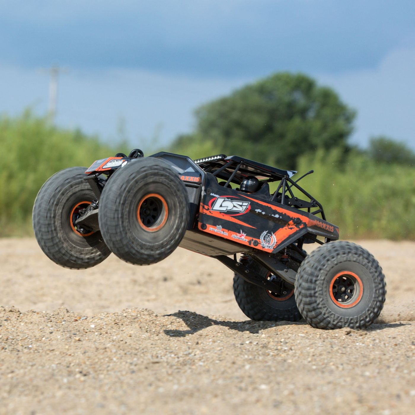 Losi Rock Rey Buggy Rock Racer brushless avc bnd 2