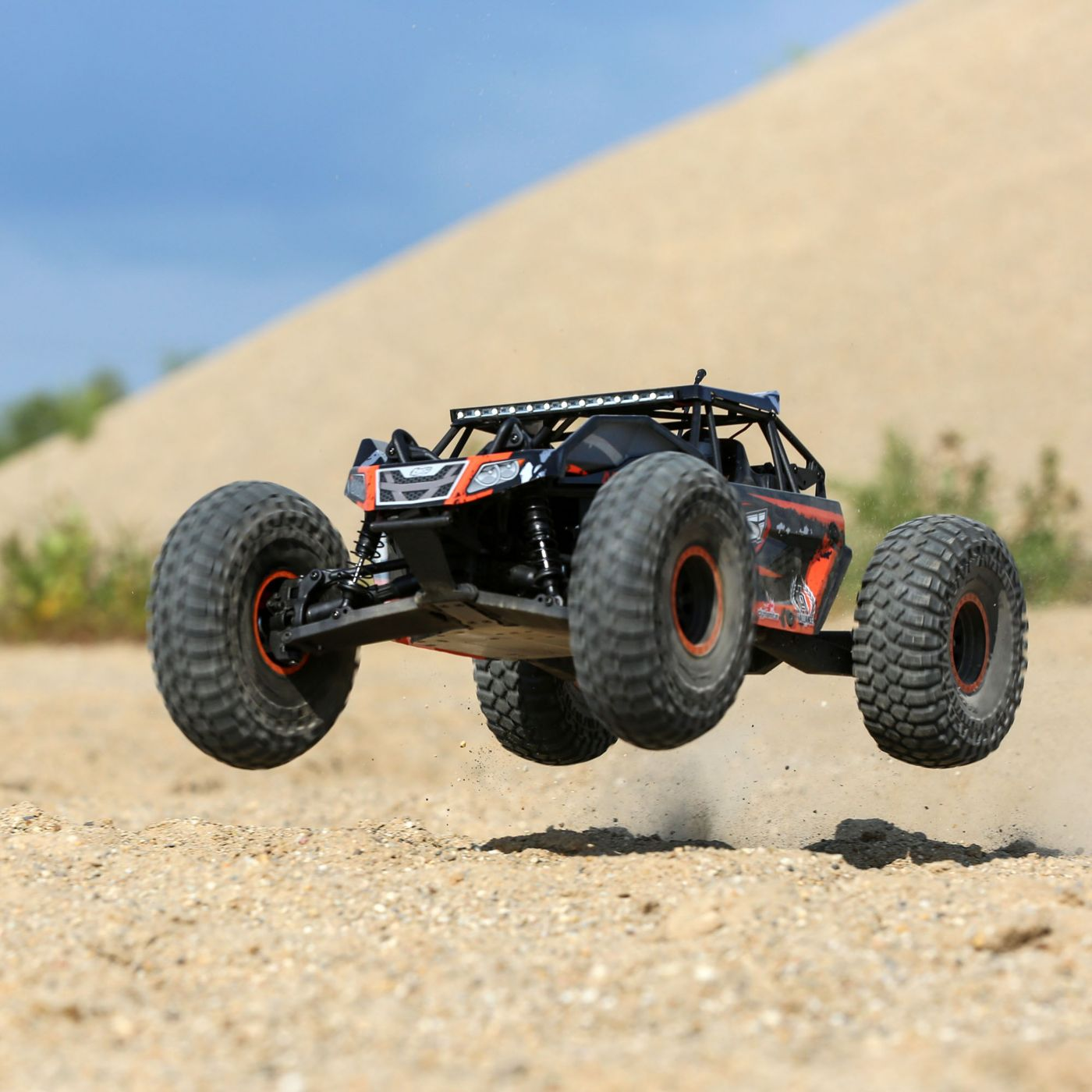 Losi Rock Rey Buggy Rock Racer brushless avc bnd 8