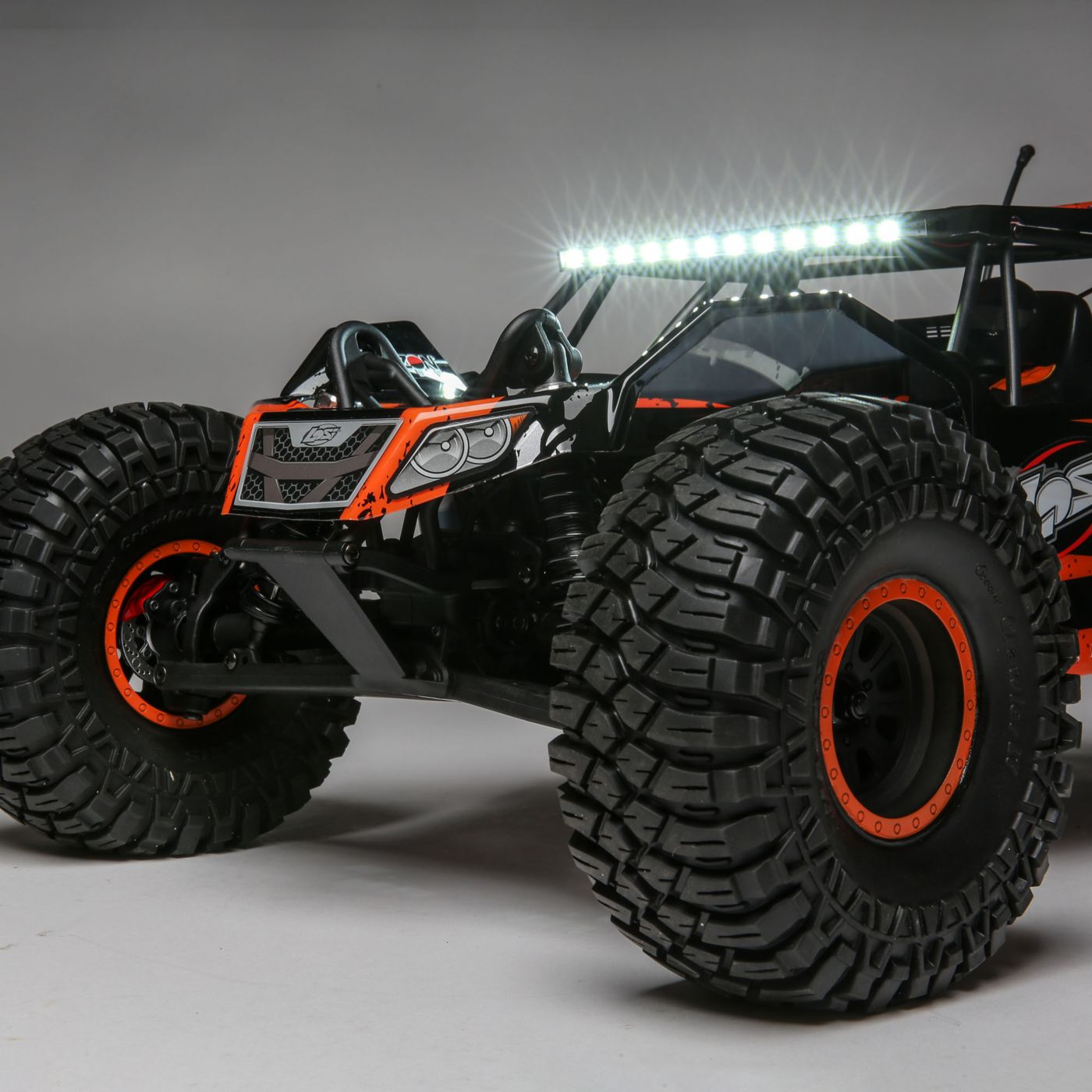 Losi Rock Rey Buggy Rock Racer brushless avc bnd 9