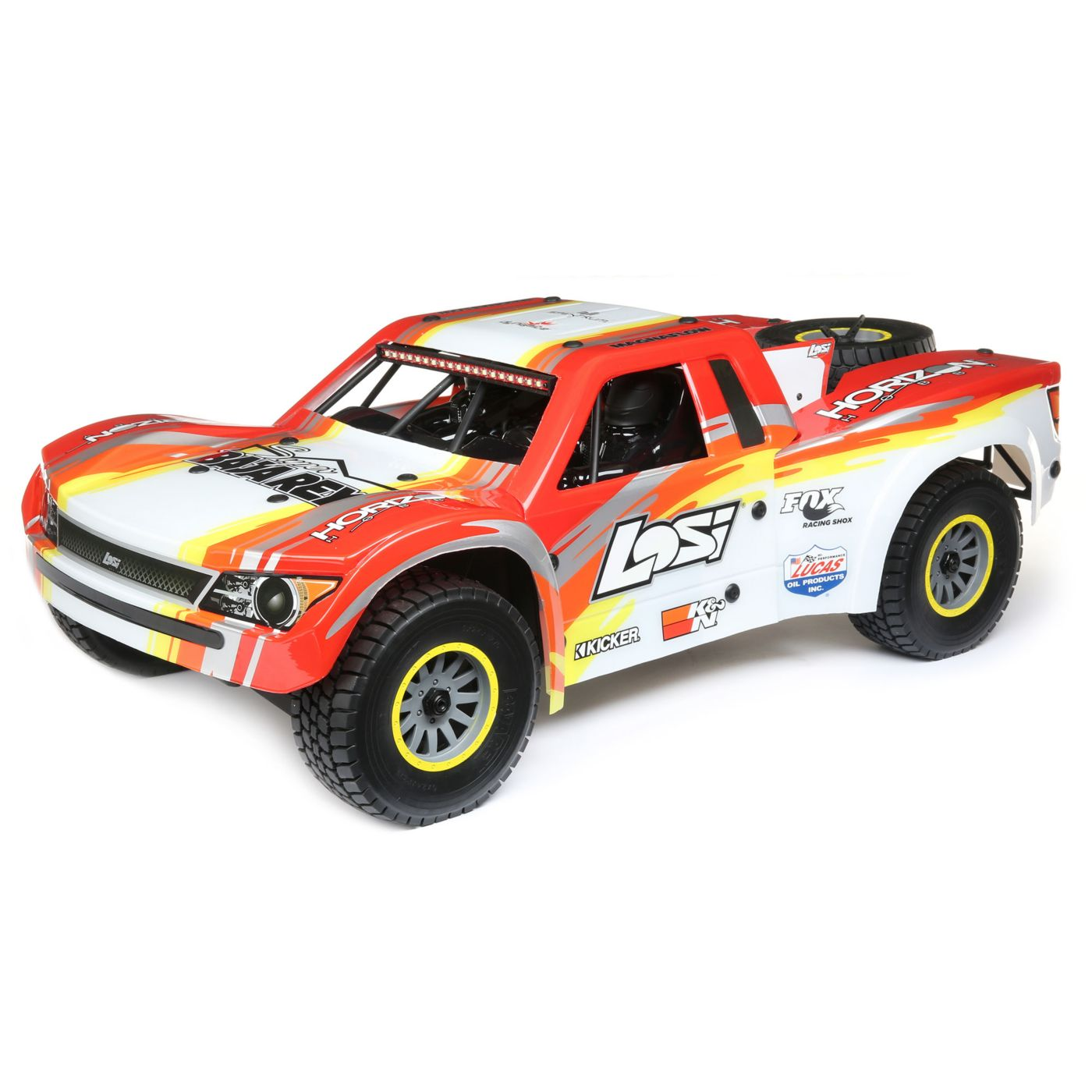 Losi Super Baja Rey Brushless 1/6 4WD Red RTR 1