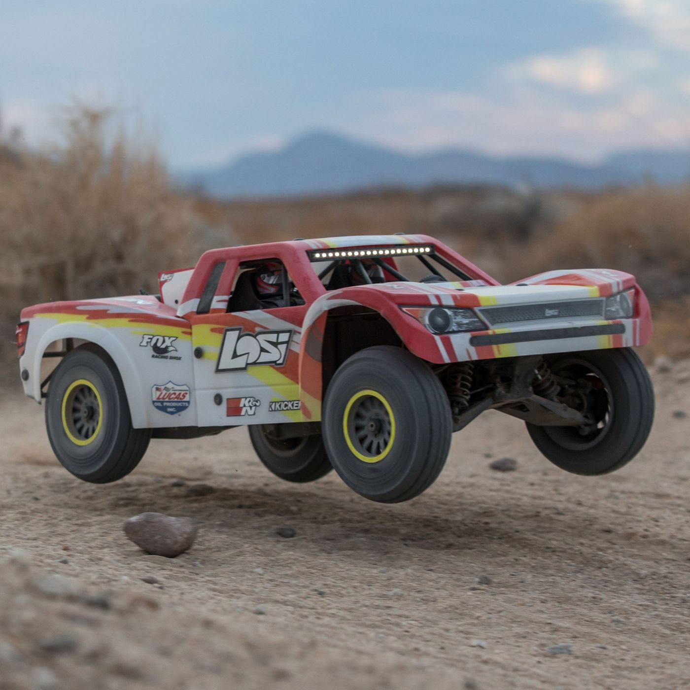 Losi Super Baja Rey Brushless 1/6 4WD Red RTR 3