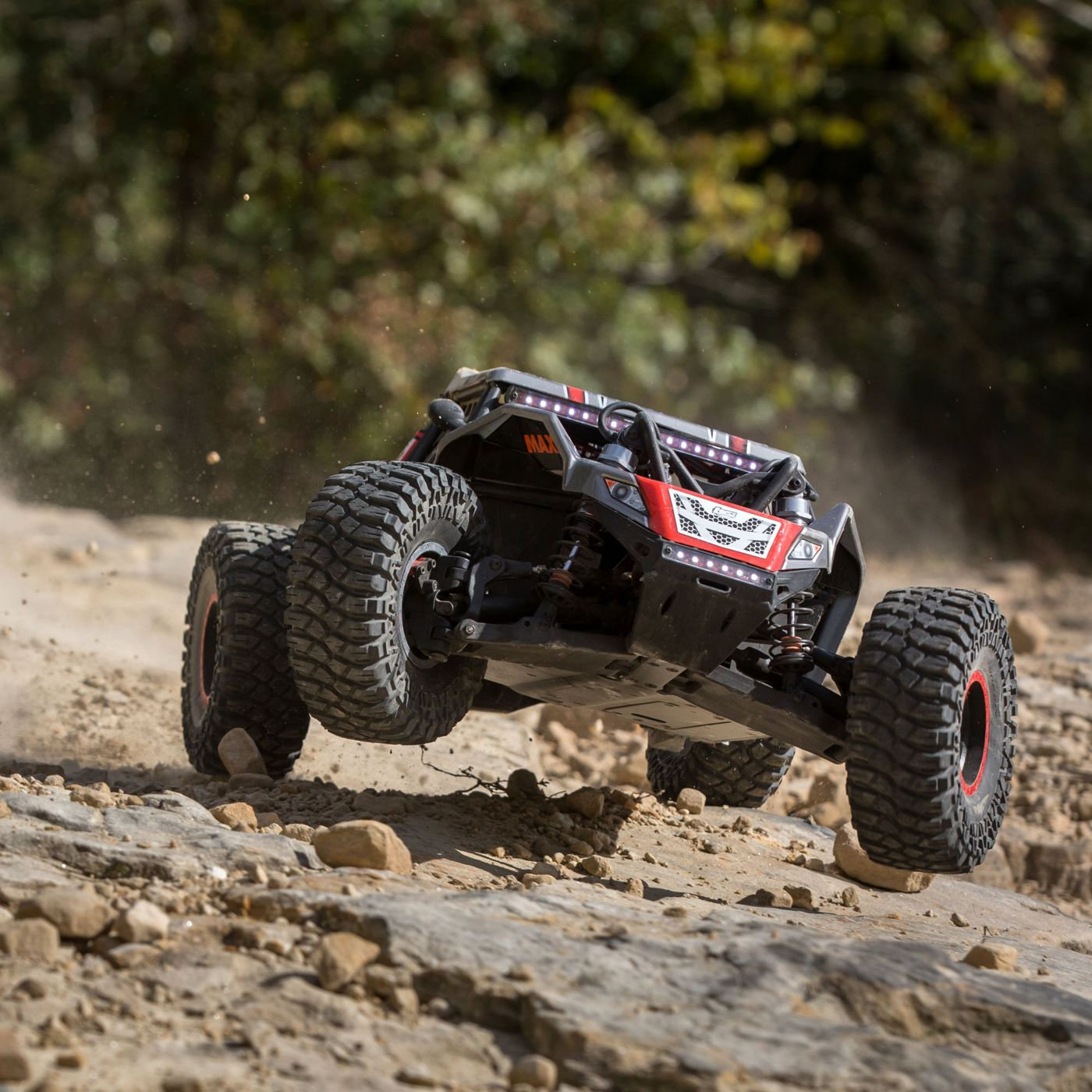 Losi Super Rock Rey Rock Racer brushless avc rtr 2