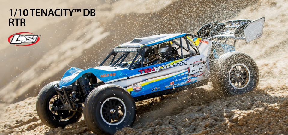 Losi Tenacity 4wd buggy rtr brushless rtr blue 1