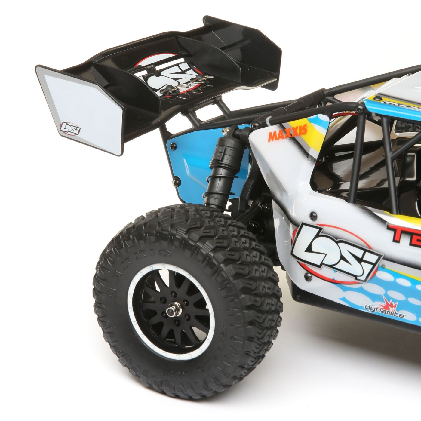 Losi Tenacity 4wd buggy rtr brushless rtr blue 5