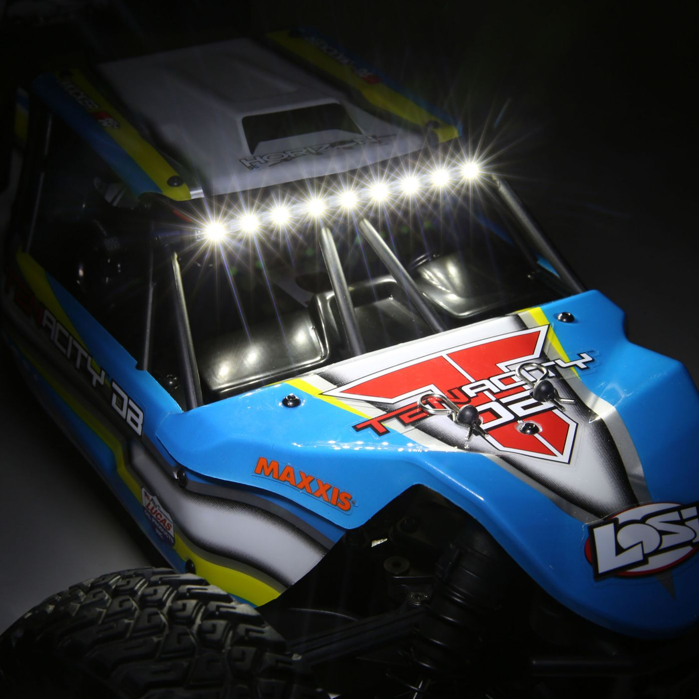 Losi Tenacity 4wd buggy rtr brushless rtr blue 7