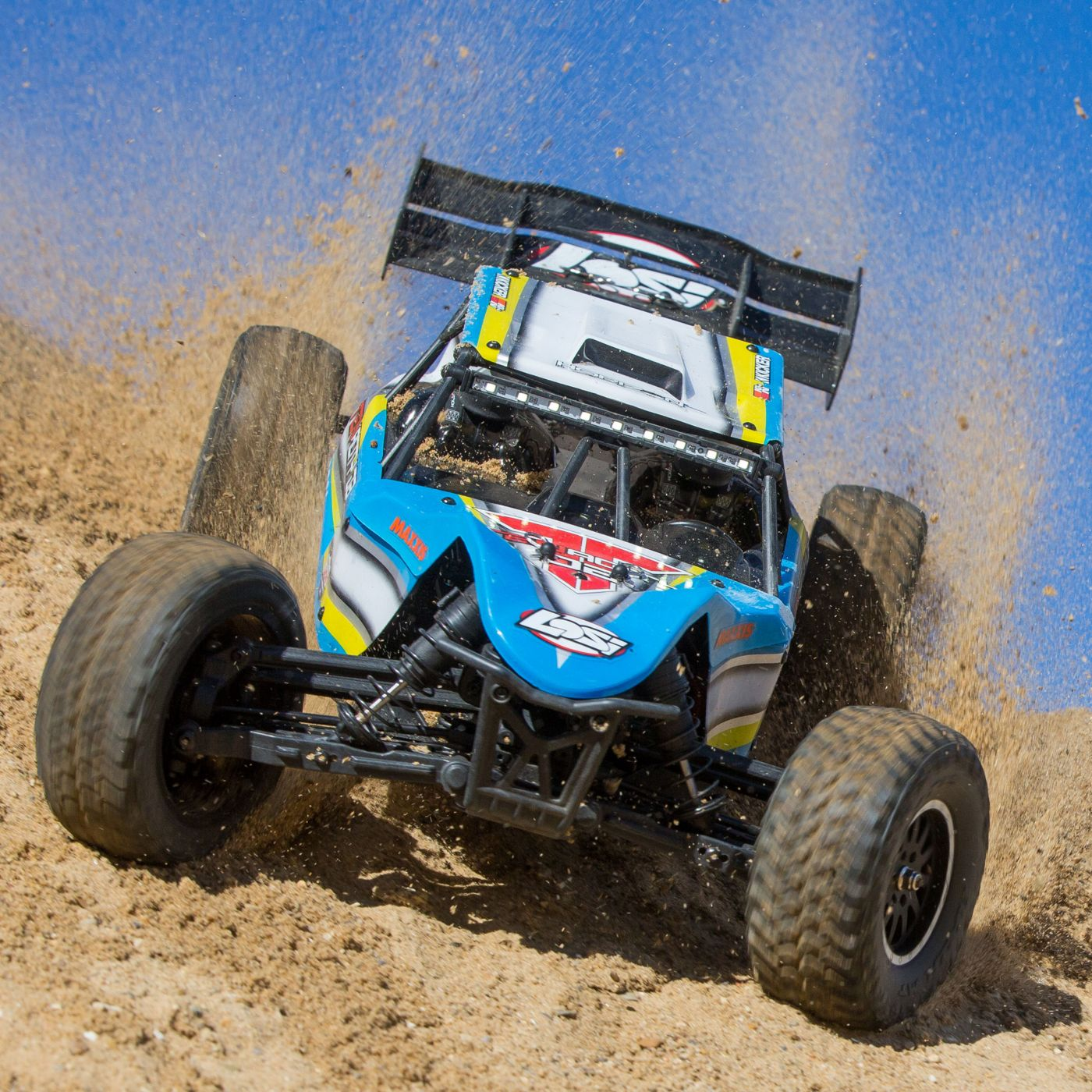 Losi Tenacity 4wd buggy rtr brushless rtr blue 10