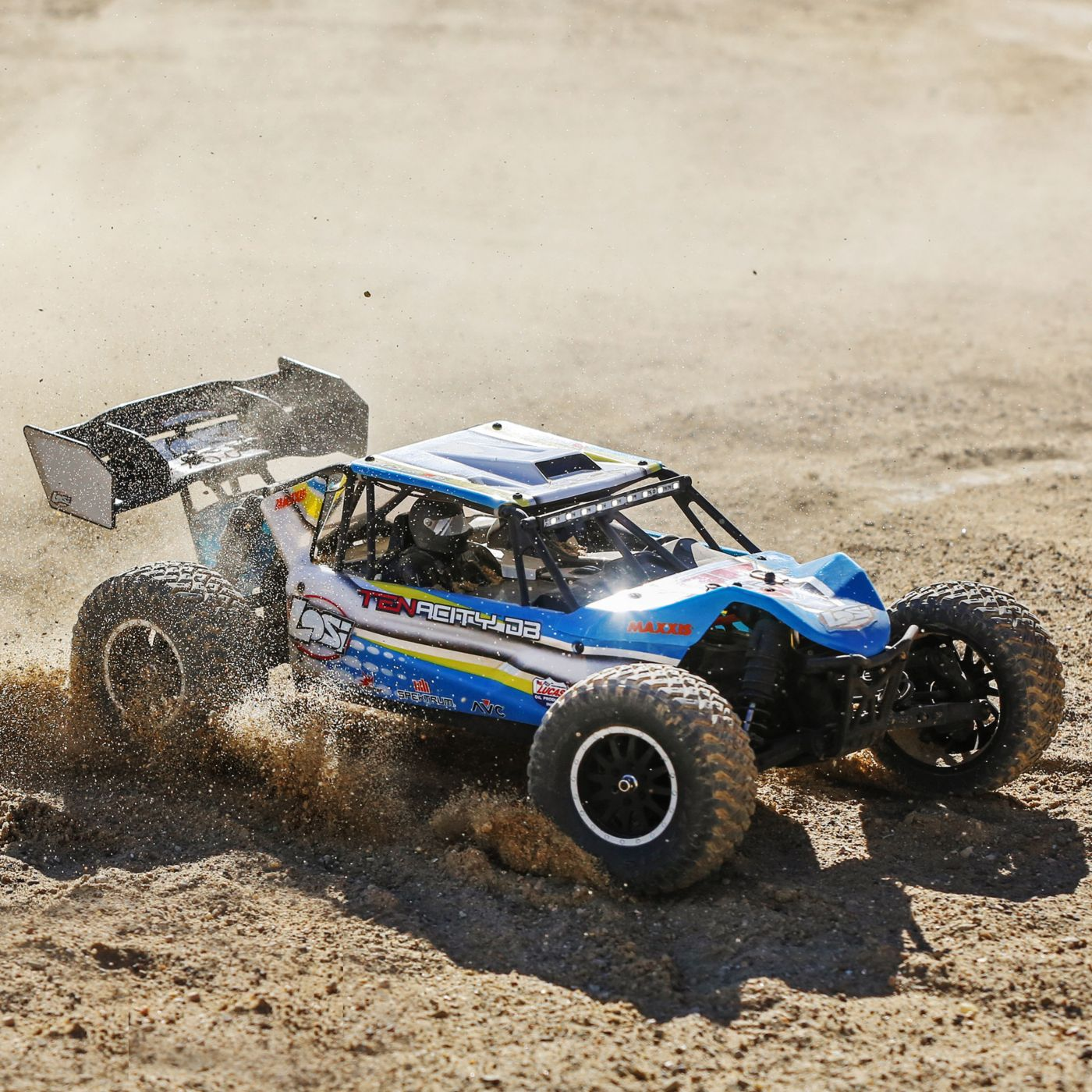 Losi Tenacity 4wd buggy rtr brushless rtr blue 11
