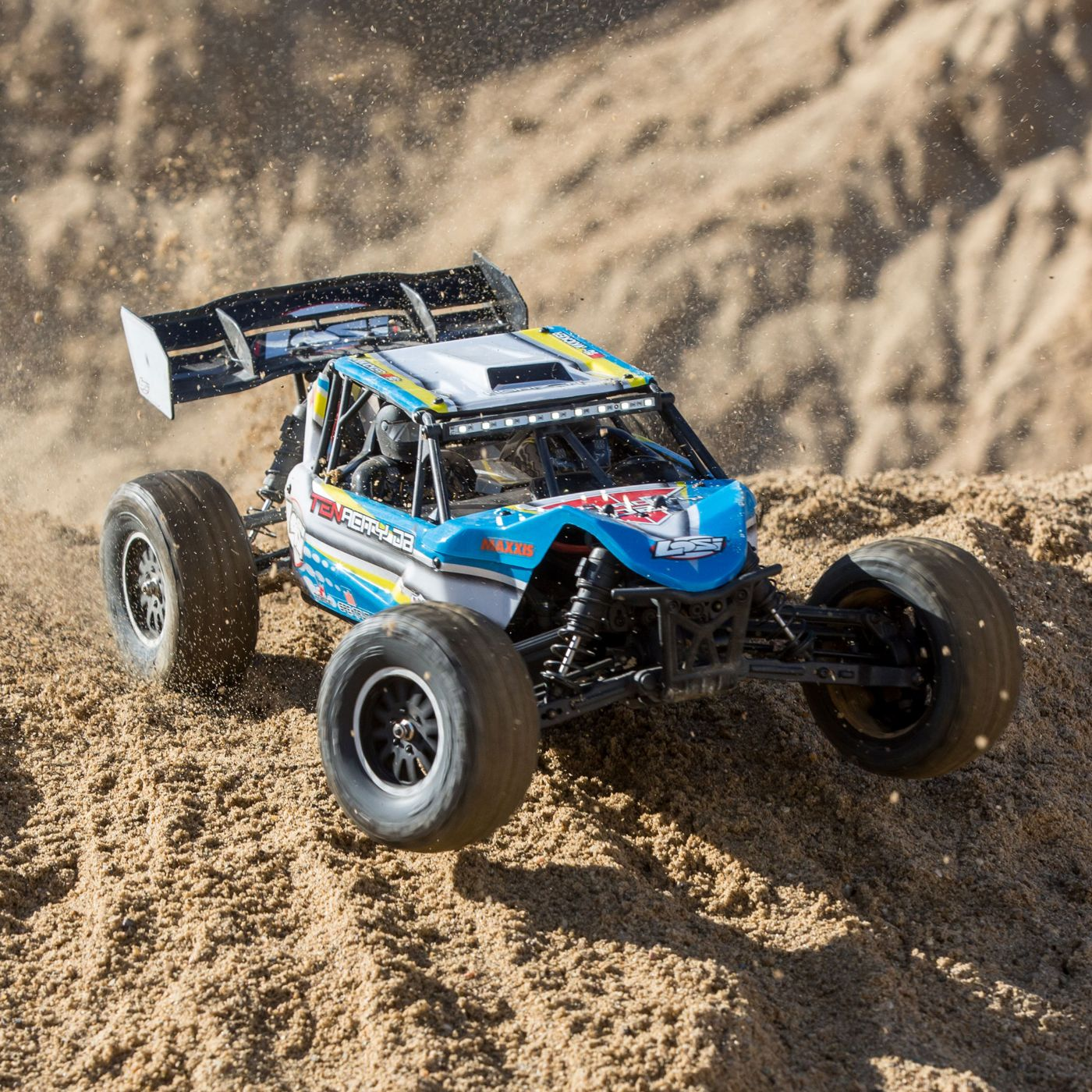 Losi Tenacity 4wd buggy rtr brushless rtr blue 12
