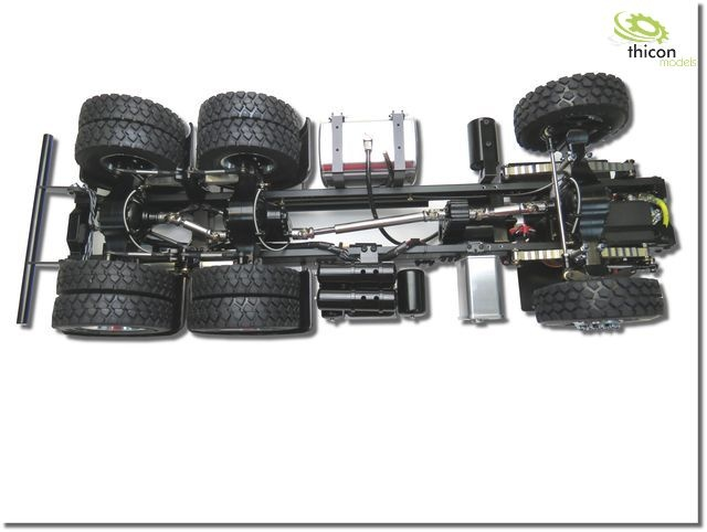 camion 6x6 1 /14 motrice tamiya arocs 3