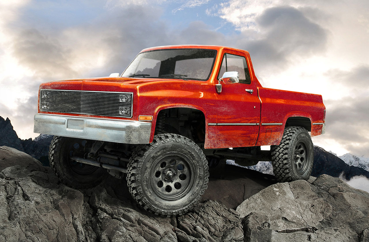 MST CMX C10 Pickup RTR 1/10 orange 4x4 01