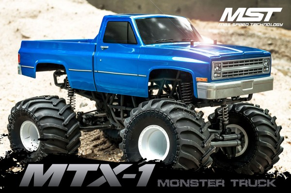 Mst Cmx MTX-1 Monster Truck Brushless 01