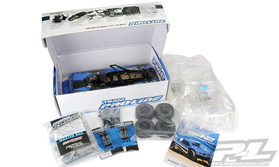 Pro-Line Pro-2 sc Kit Short Course box