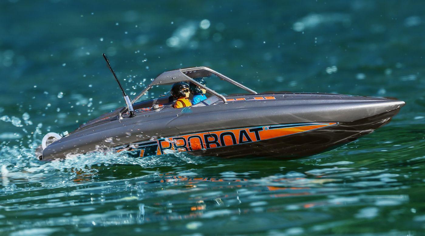 Proboat River Jet Boat motoscafo turbina rtr