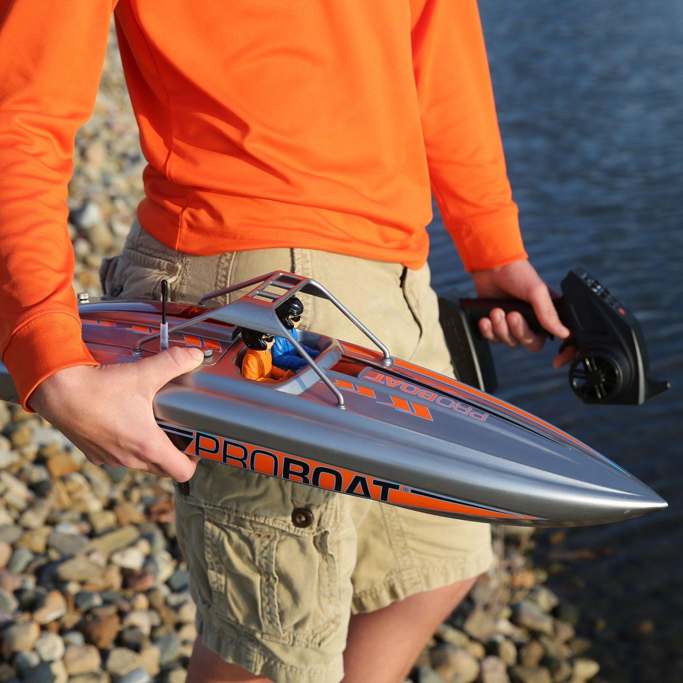 Proboat River Jet Boat motoscafo turbina rtr 06